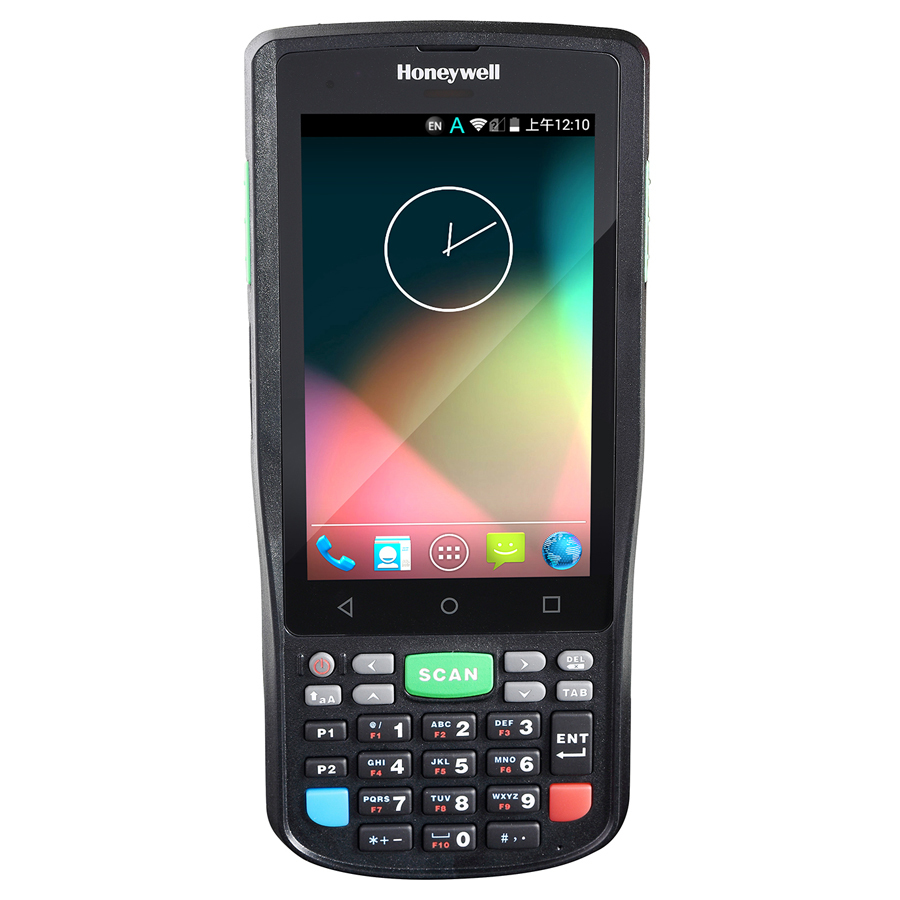"Honeywell ScanPal EDA50K handheld mobile computer 10.2 cm (4"") 480 x 800 pixels Touchscreen 300 g Black"