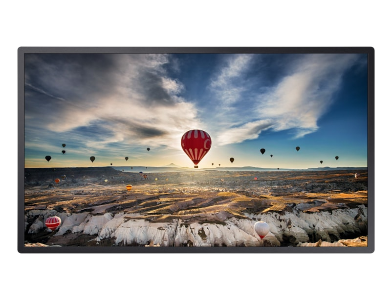 "Samsung LH32OMHPWBC Digital signage flat panel 81.3 cm (32"") VA Full HD Black Tizen"