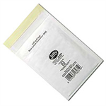 Jiffy Riggikraft Airkraft Postal Bags Bubble-lined Peel and Seal No.00 White 115x195mm Ref JL-00 [Pack 100]