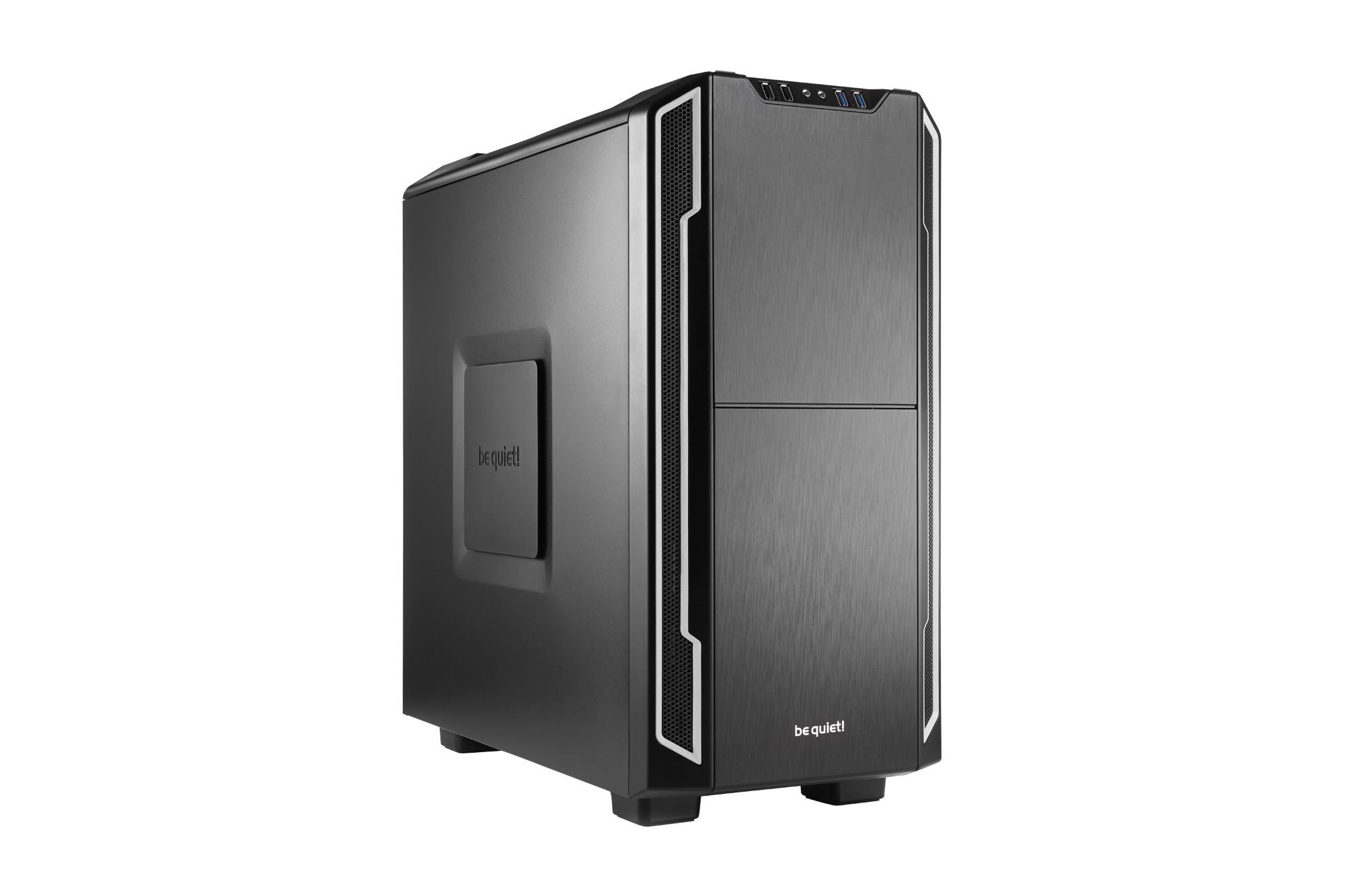 be quiet! Silent Base 600 Midi ATX Tower Black,Silver