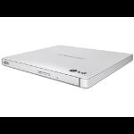 LG Slim Portable 9.5mm Base DVD-W Wht