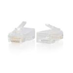 C2G RJ45 Cat6 10pcs wire connector RJ-45