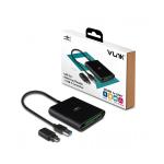 VANTEC VLink USB 3.0 External Multi-Card Reader Plus USB-C Converter