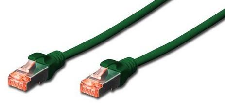 Digitus 3m CAT6 S-FTP RJ45 cable de red S/FTP (S-STP) Verde