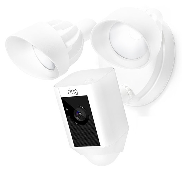 Ring Floodlight Cam IP security camera Outdoor Cube Wall