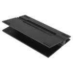 SoundXtra Adjustable Universal Speaker Wide Stand (Single) - Black