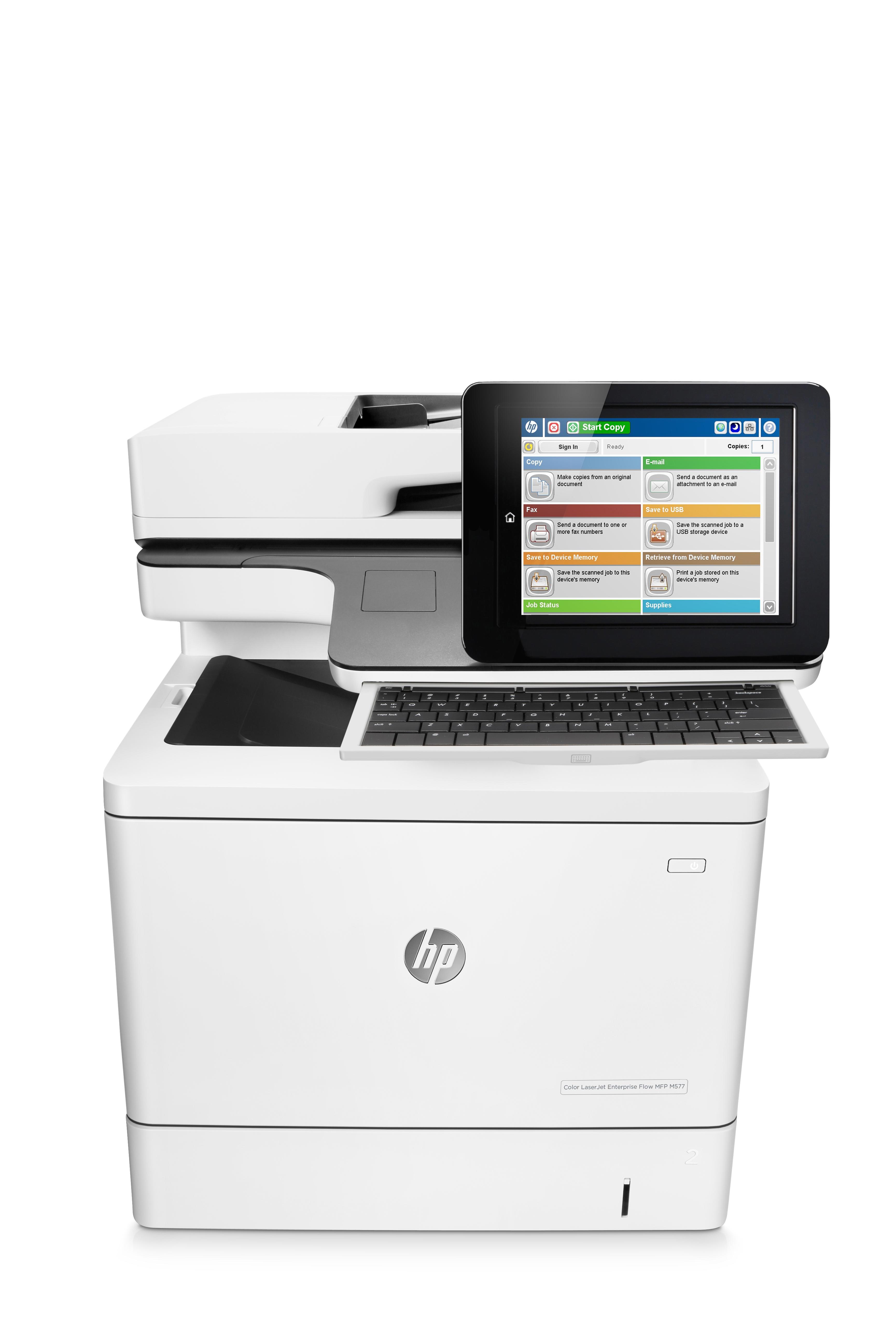 HP LaserJet M577c