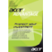 ACER Advantage Warranty Upgrade To 3 Years Pick Up & Del. Including Data Recovery + 1st Year Itw - Re