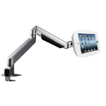 Maclocks iPad Secure Space Enclosure with Reach Articulating Arm Kiosk White - Desk mount for Apple iPad - lo