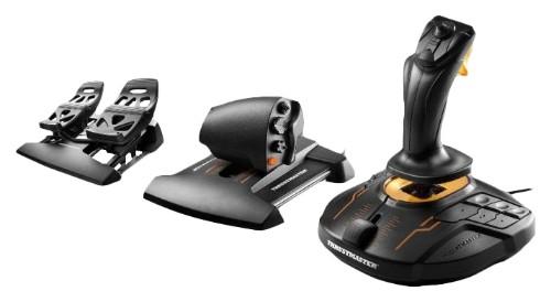 Thrustmaster T-16000M FCS Flight Pack Black USB Joystick Analogue / Digital MAC, PC