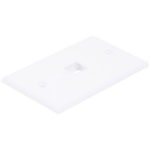 Monoprice 6725 wall plate/switch cover White