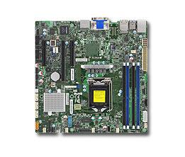 Supermicro X11SSZ-F server/workstation motherboard LGA 1151 (Socket H4) Micro ATX Intel® C236
