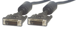 MCL -I Male/Male Dual Link 2m cable DVI DVI-I Negro
