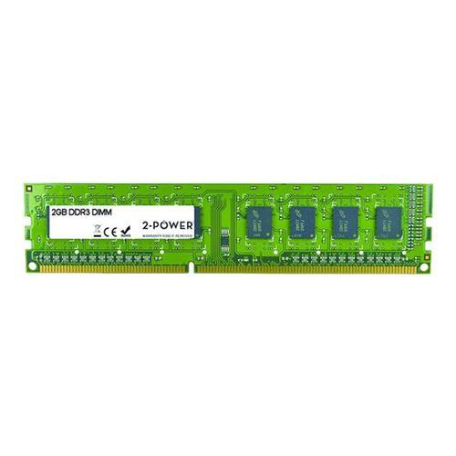 2-Power 2GB DDR3 1333MHz DR DIMM