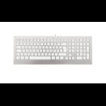 CHERRY STRAIT 3.0 FOR MAC keyboard USB AZERTY French Silver, White