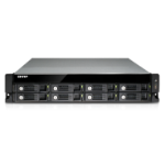 QNAP TS-853U-RP 48TB (Seagate IronWolf Pro) 8 Bay rackmount TurboNAS; quad-core Celeron 2.0GHz (up to 2.4