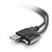 C2G 2m, USB2.0-C/USB2.0-A cable USB 2.0 USB C USB A Negro