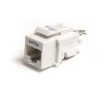 StarTech.com Cat5e Modular Keystone Jack White - Tool-Less
