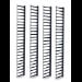APC AR7737 canaleta para cable Bandeja portacables recta Negro