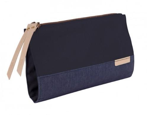 STM 931-105Z-44 Polyester Blue Woman Clutch bag