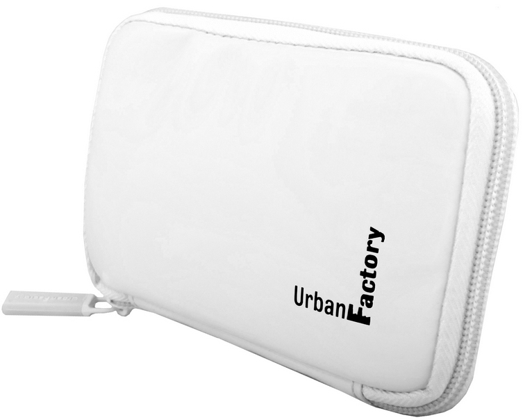 Urban Factory HDD15UF storage drive case Vinyl White