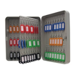 Cathedral Products Value Key Cabinet Steel GY Lock and Wall Fixings 160 Keys