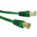 C2G Cat5e STP, 1 x RJ-45, 1 x RJ-45, 14ft, Green 4.26m Green networking cable
