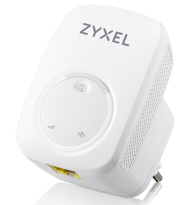 Zyxel WRE2206 Transmisor y receptor de red Blanco