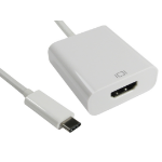 Cables Direct USB3C-HDMICAB USB graphics adapter 4096 x 2160 pixels White