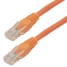 MCL 10m Cat5e U/UTP cable de red U/UTP (UTP) Naranja