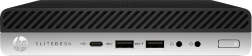 HP EliteDesk 800 G4 8th gen Intel® Core™ i7 i7-8700 8 GB DDR4-SDRAM 1000 GB HDD Black,Silver Mini PC