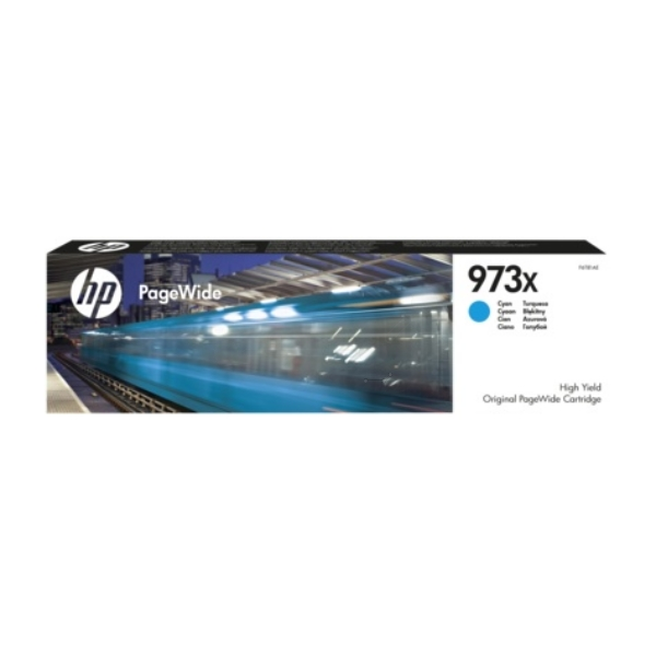 HP F6T81AE (973X) Ink cartridge cyan, 7K pages, 86ml