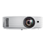 Optoma H117ST data projector Desktop projector 3800 ANSI lumens DLP WXGA (1280x800) 3D White