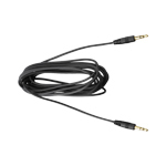 Sennheiser 502391 3.5mm 3.5mm Black audio cable