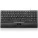V7 Slim Multimedia Keyboard - UK/NL