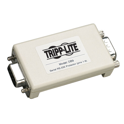 Tripp Lite Datashield Serial In-Line Surge Protector, DB9