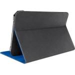 Belkin Verve Leather Folio Case For Kindle Fire - Black / Blue