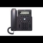 Cisco 6841 IP telefoon Zwart 4 regels