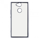 "Ksix MFX3488FTP15 mobile phone case 13.2 cm (5.2"") Cover Grey,Transparent"