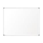 Nobo Prestige Enamel Magnetic Whiteboard 2000x1000 with Aluminium Trim
