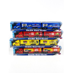 TEAMA TOY DOUBLE ROAD HAULER SEMI ( EACH )