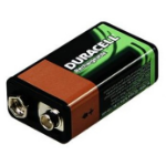Duracell BUN0055A Nickel Metal Hydride 170mAh 9V rechargeable battery