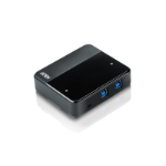 Aten US234 interface hub USB 3.2 Gen 1 (3.1 Gen 1) Type-B 5000 Mbit/s Black