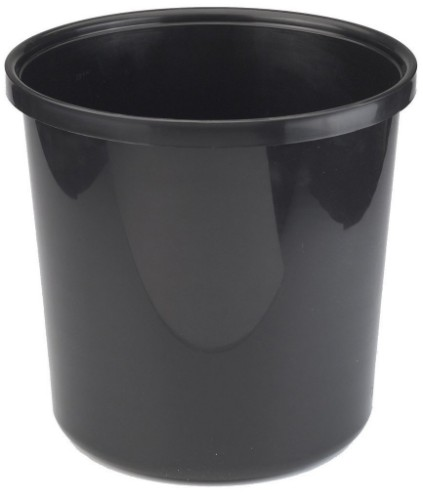 Avery 19BLK waste container Round Black Polypropylene (PP)
