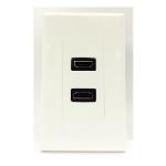 4XEM 4XWALLHDMI2 outlet box White