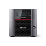 Buffalo TeraStation 5210DN Ethernet LAN Desktop Zwart NAS