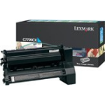 Lexmark C7720CX Toner cyan, 15K pages @ 5% coverage