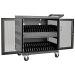 Tripp Lite CSC32USB portable device management cart/cabinet Black