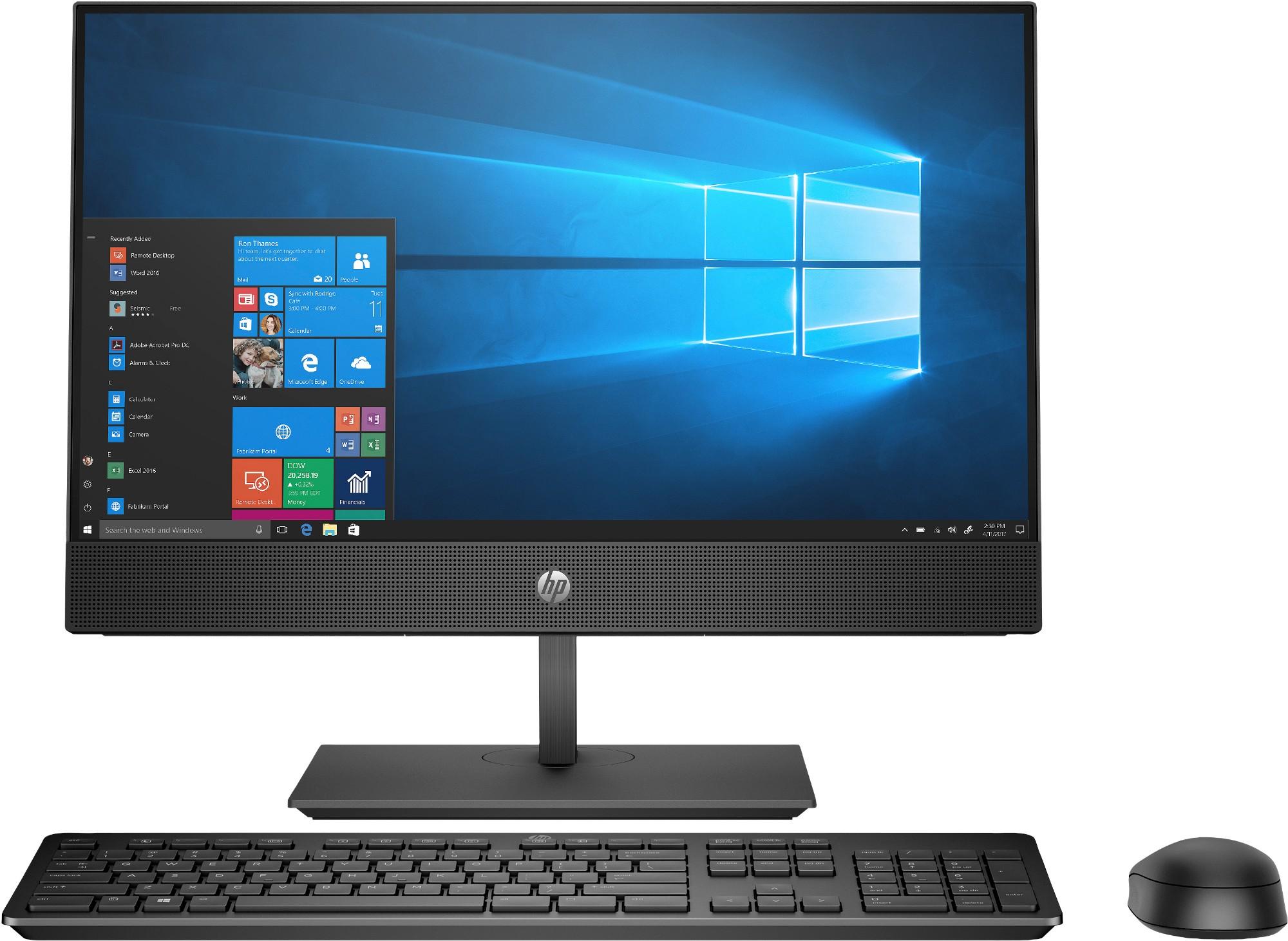 """HP ProOne 600 G5 54,6 cm (21.5"""") 1920 x 1080 Pixels 9th gen Intel® Core™ i5 i5-9500 8 GB DDR4-SDRAM 256 GB SSD Zwart Alles-in-één-pc"""