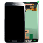 Samsung LCD Front Assembly (Black) S5